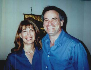 Amy Schoen and her husband Alan.