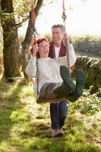 Couple Swinging Image